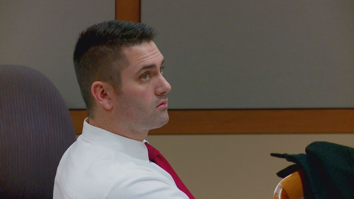 Seth Lookhart at day 2 of his trial.