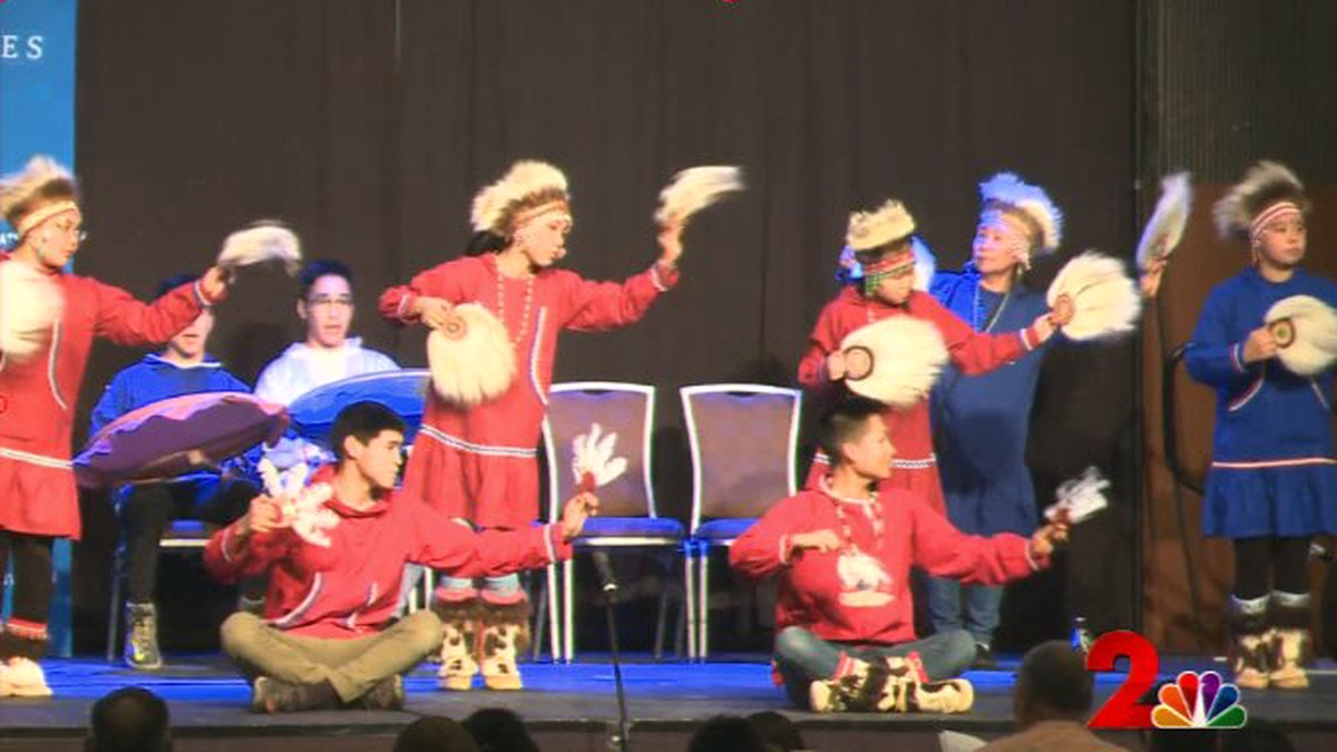 Dancers perform at the 2018 AFN conference