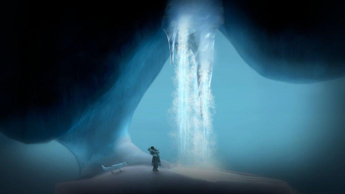 "(Screenshot of ""Never Alone"" video game. Courtesy CITC)"