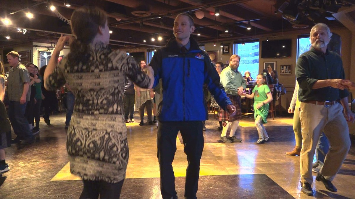 Derek was given an A for effort from the Irish Cultural Collective at their annual St....