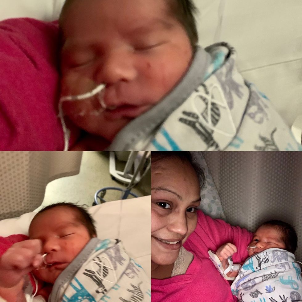 Sky was born on Aug. 5 on a plane between Glenallen and Anchorage.