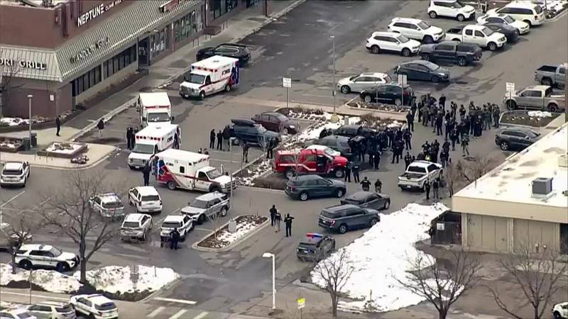 Police are at the scene of a reported active shooter situation in Boulder, Colorado.
