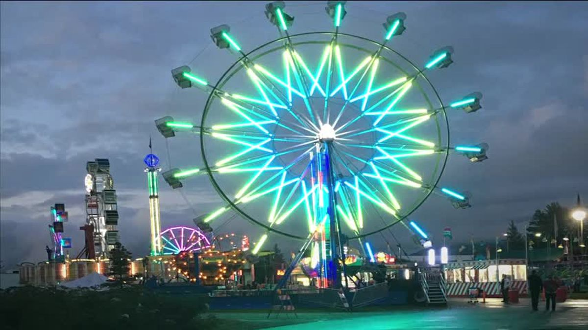 Alaska State Fair - Lights of the Midway - Laura Smith 2016