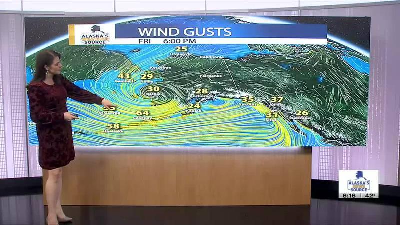 Chief Meteorologist Melissa Frey's Friday evening weather update.