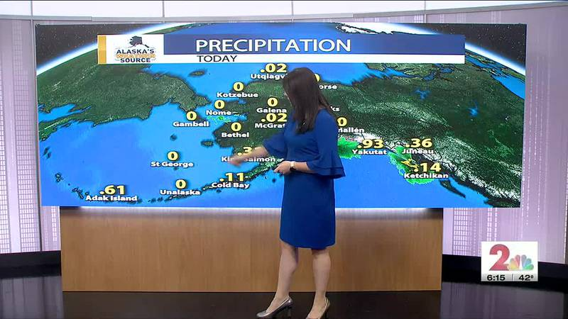 Temperatures drop with a wintry mix in the forecast