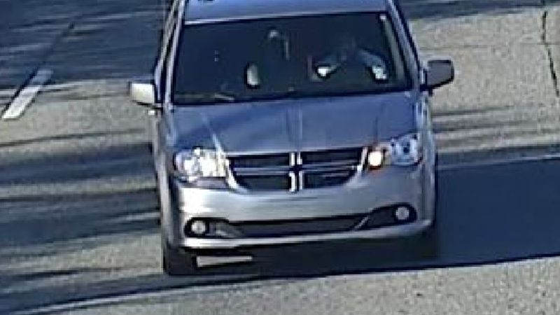 Anchorage police have provided photos of the vehicle they believe the shooting suspect left the...