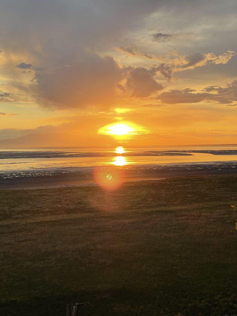 Cook Inlet Sunset-Jermone Saclamana