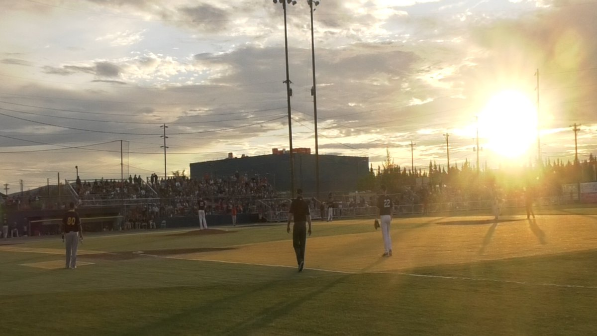 For the 116th consecutive year, baseball was played under the midnight sun in Fairbanks, Alaska.