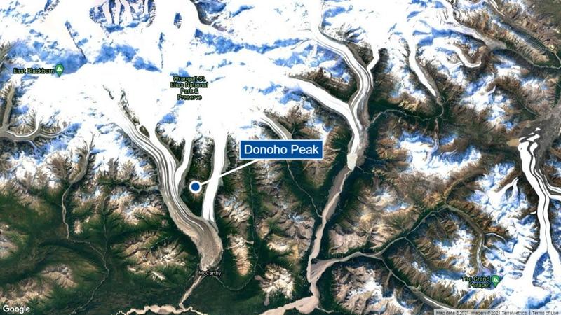 Hiker dies in Wrangell-St. Elias National Park and Preserve.