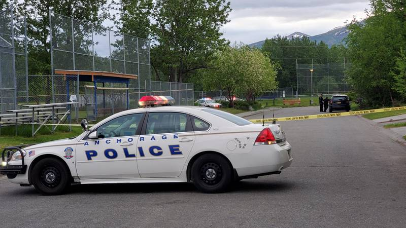 A dead woman was found at the Nunaka Valley baseball fields in East Anchorage early Tuesday...