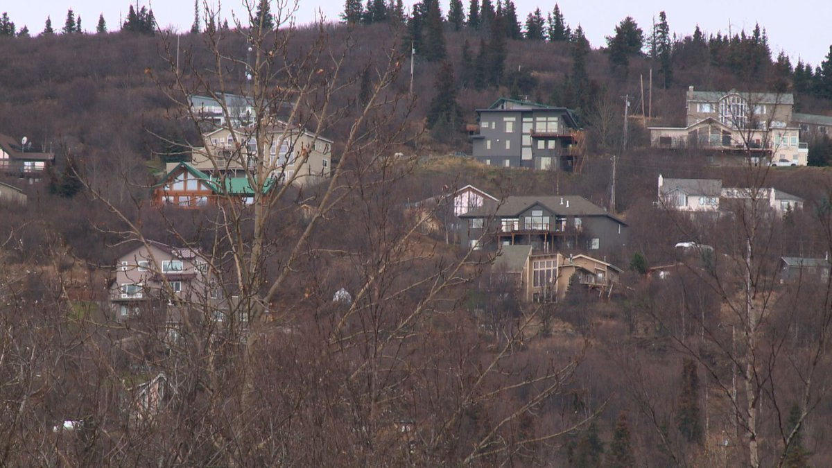 Many of the houses in Anchorage's Hillside area currently have limited access, and a lack...