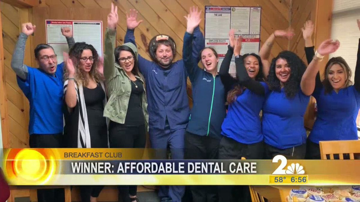 This week's breakfast club visit was to Affordable Dental Care.