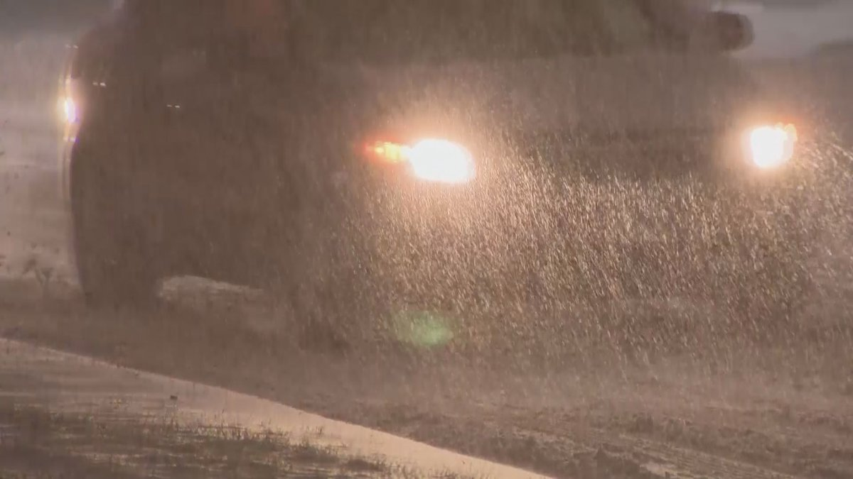 High winds, heavy rain and snow are making driving some of Alaska's highways dangerous.