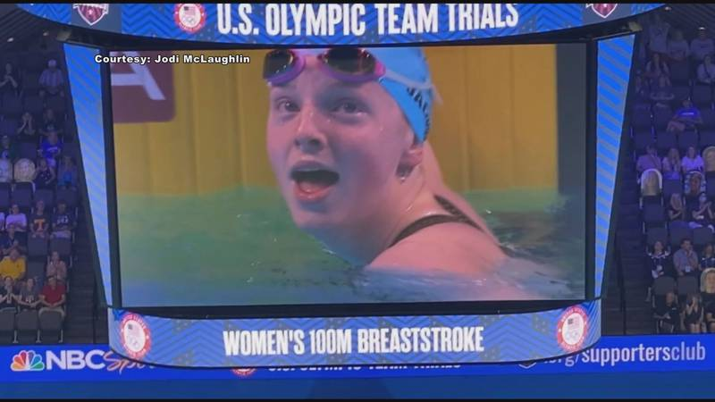 Lydia Jacoby broke the record for the national 17-18 age group during the 2021 U.S. Olympic...
