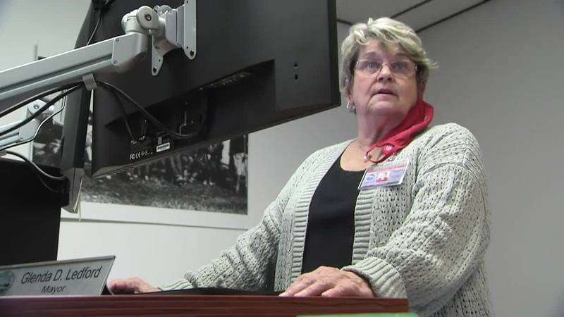Glenda Ledford returned to work earlier this week after she was diagnosed with COVID-19