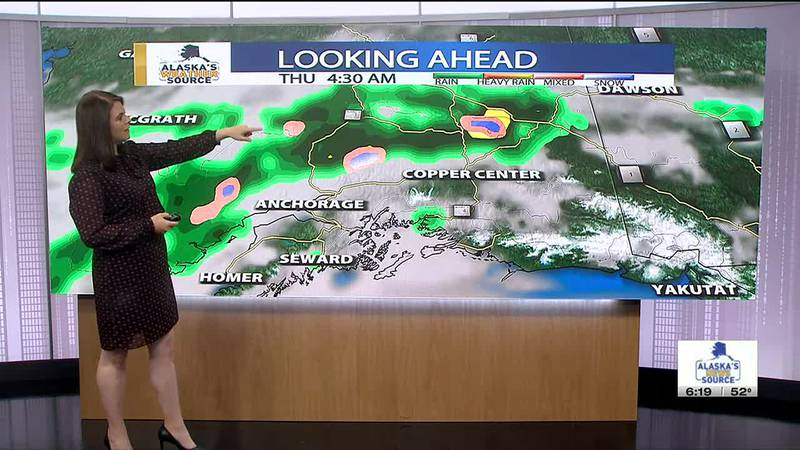 Active thunderstorms fired up across the Interior and Mat-Su Wednesday afternoon, causing...