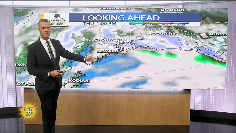 Thursday, March 25 Morning Weather