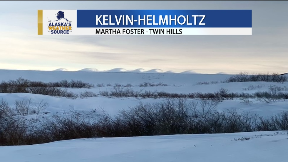Clouds breaking (Kelvin-Helmholtz) as pictured by Martha Foster in Twin Hills