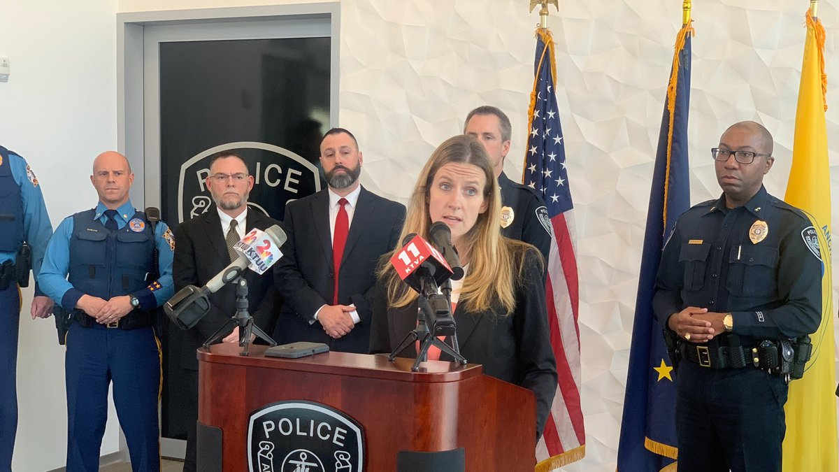 Deputy District Attorney Brittany Dunlap announces additional charges against Brian Smith.