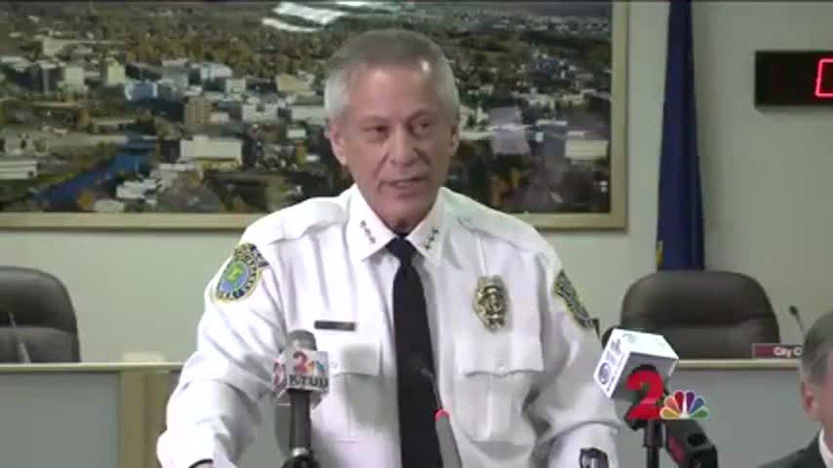 Randall Aragon, former Fairbanks police chief.