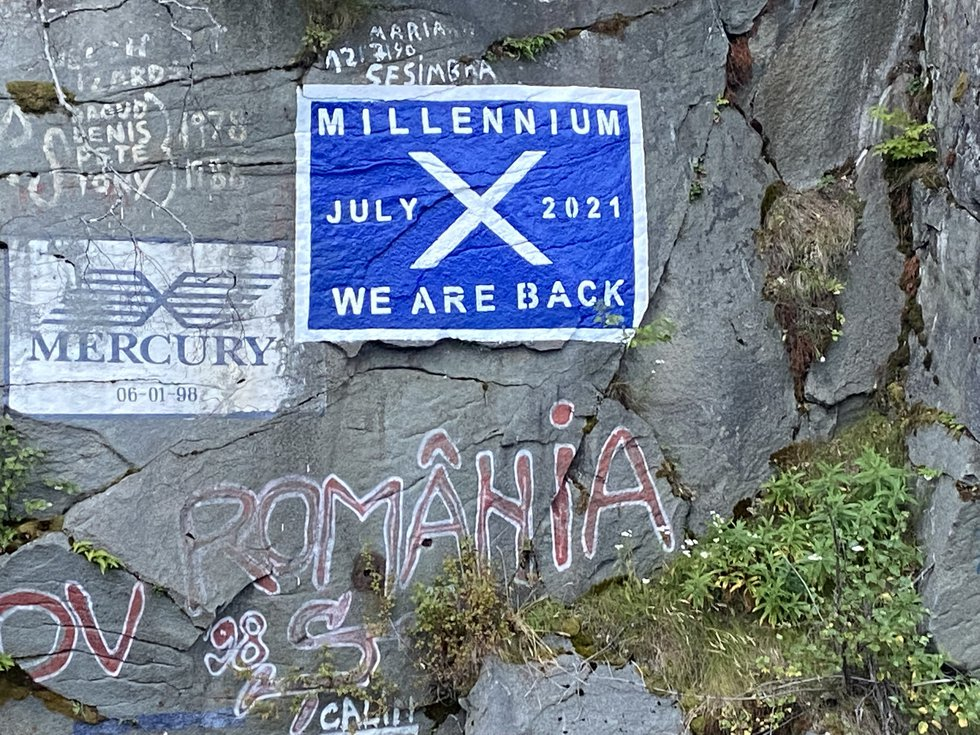 The Celebrity Millennium marked the return of large cruise ships in Skagway on the famed...