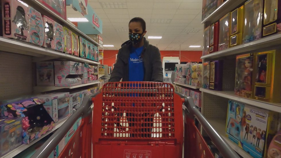 Anchorage girl has her Make-A-Wish dream fulfilled thanks to Target and Bailey's Furniture....