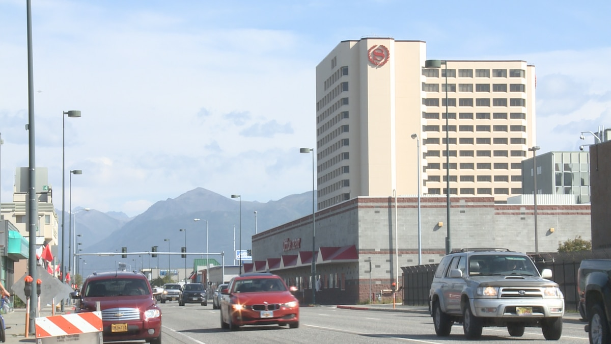 Anchorage is home to 35 hotels with 100 or more rooms, including the Sheraton Anchorage downtown.